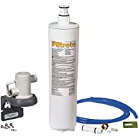 Filtrete Advanced Under Sink Quick Change Water Filtration System, Easy to Install, Reduces 0.5 Microns Sediment and…