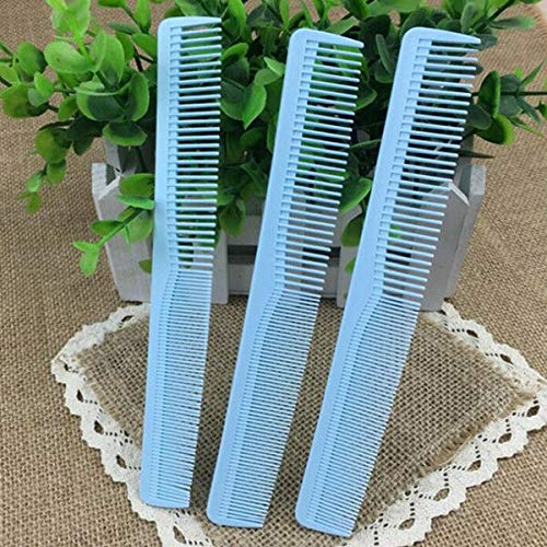(Colorful 100pcs/lot Professional Hair Cut Comb for Hairdresser Barber CutStylist (Color - Blue))