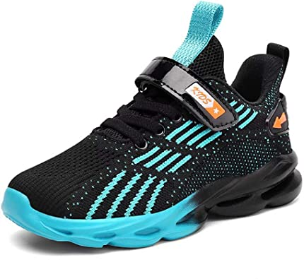 Littleplum Kids Running Shoes for Boys Athletic Tennis Shoes Ankle-High Fashion Sneaker for Boys and Girls