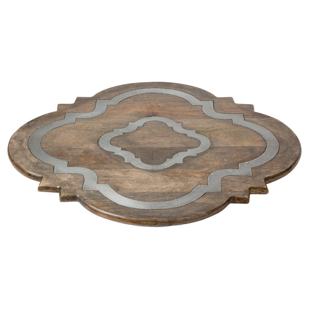 Wood Lazy Susan by GG Collection