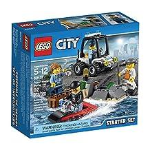LEGO City Police Prison Island Starter Set (92 Piece)