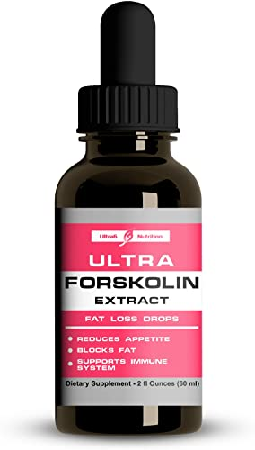 Forskolin for Weight Loss Maximum Strength. Concentrated Liquid Form. Forskolin Extract Coleus Forskohli . Natural Appetite Suppressant Weight Loss for Women Men. Carb Blocker Immunity Booster