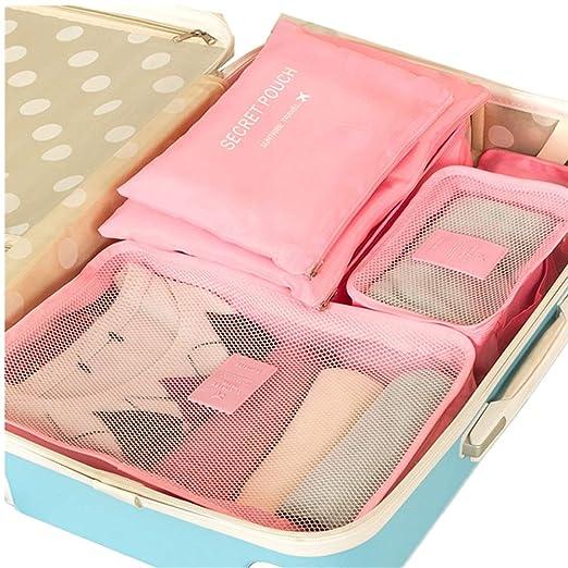 Bolsa de viaje Conjunto de 6 piezas Cubos de embalaje ...