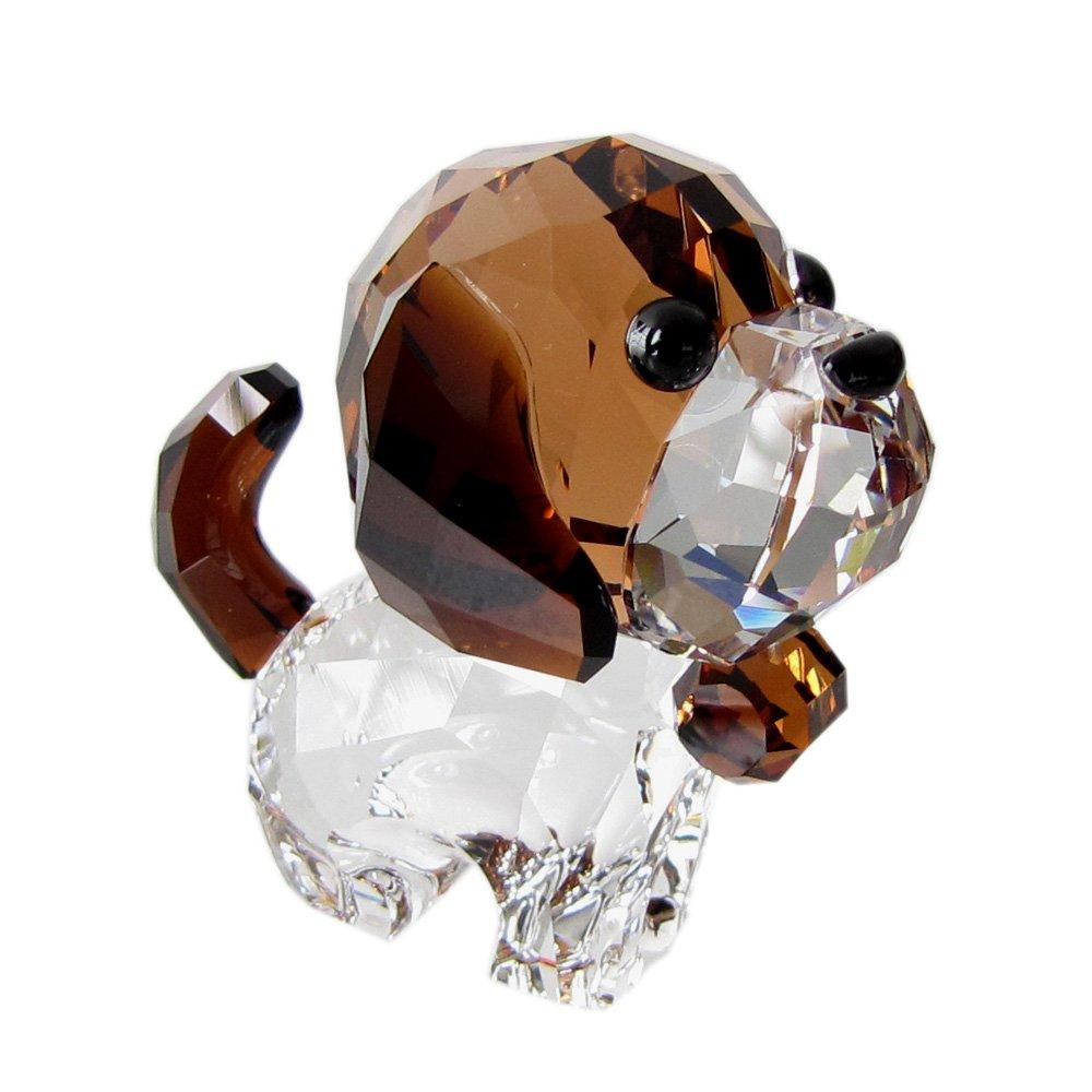 スワロフスキー SWAROVSKI クリスタル フィギュア Puppy Bernie(セントバーナード) 5213704 [並行輸入品] B01N29EJ82