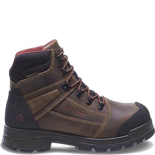 af197f0bd8e Wolverine Men's Renton LX 6 Inch Comp Toe EPX WPF INS Work Boot
