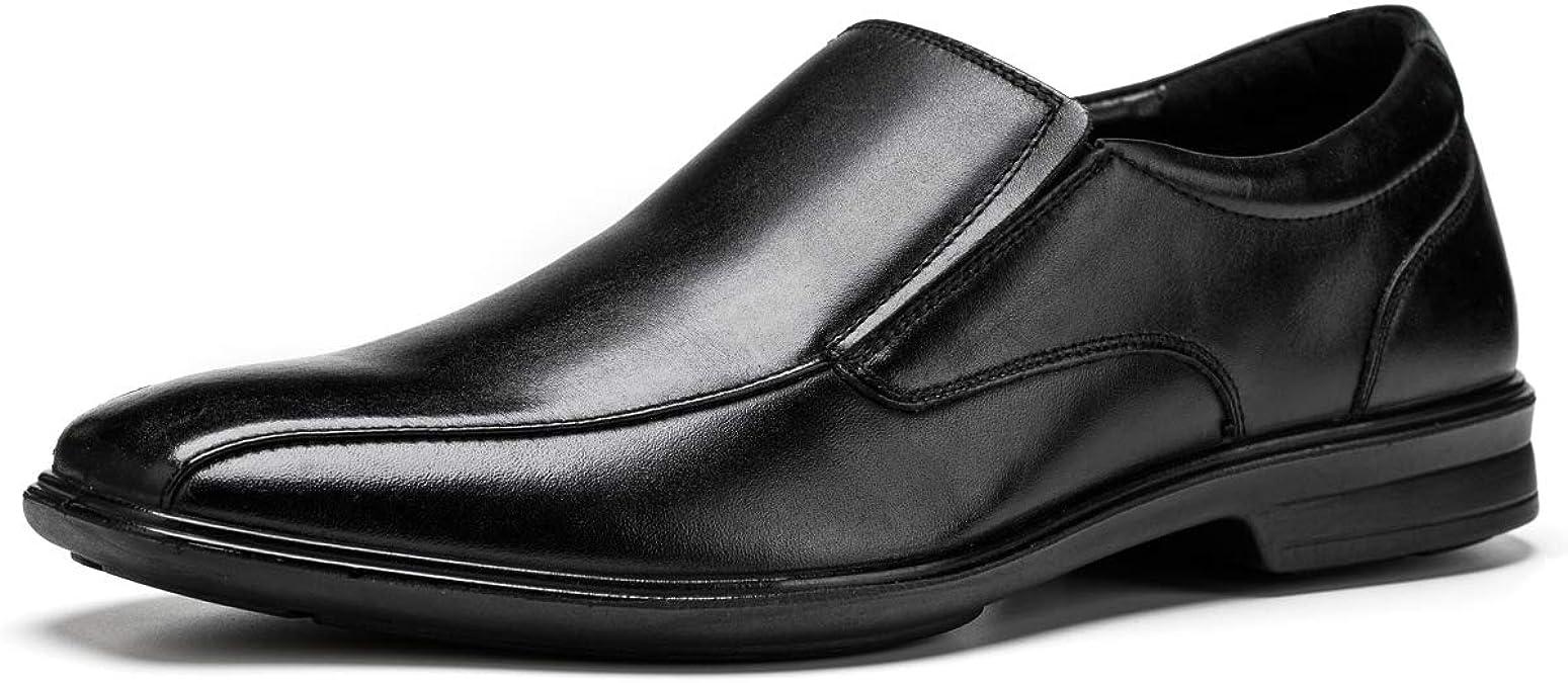 Jivana - Zapatos Planos con Cordones de Cuero Hombre