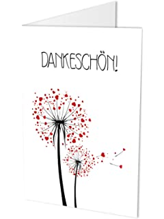 Dankeskarten Dankeschon Danksagung Nach Hochzeit Geburtstag