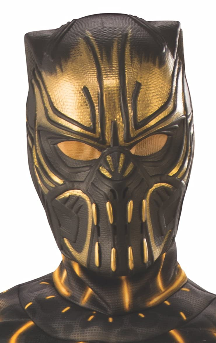Marvel: Black Panther Movie Erik Killmonger Child 1/2 Mask Rubie's Costume Co. 38241_NS