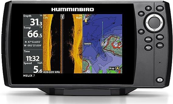 Terminales sondeurs-gps Humminbird Helix 7 G2 N Side Imaging Chirp & Red Sonda Ta: Amazon.es: Electrónica