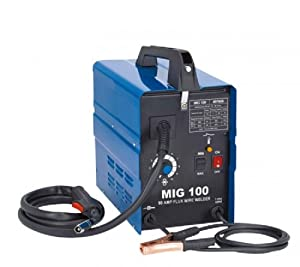 4. 90 Amp 120v Wire Feed Portable Mig Welder Non-Gas Welding Fabrication Welding Set