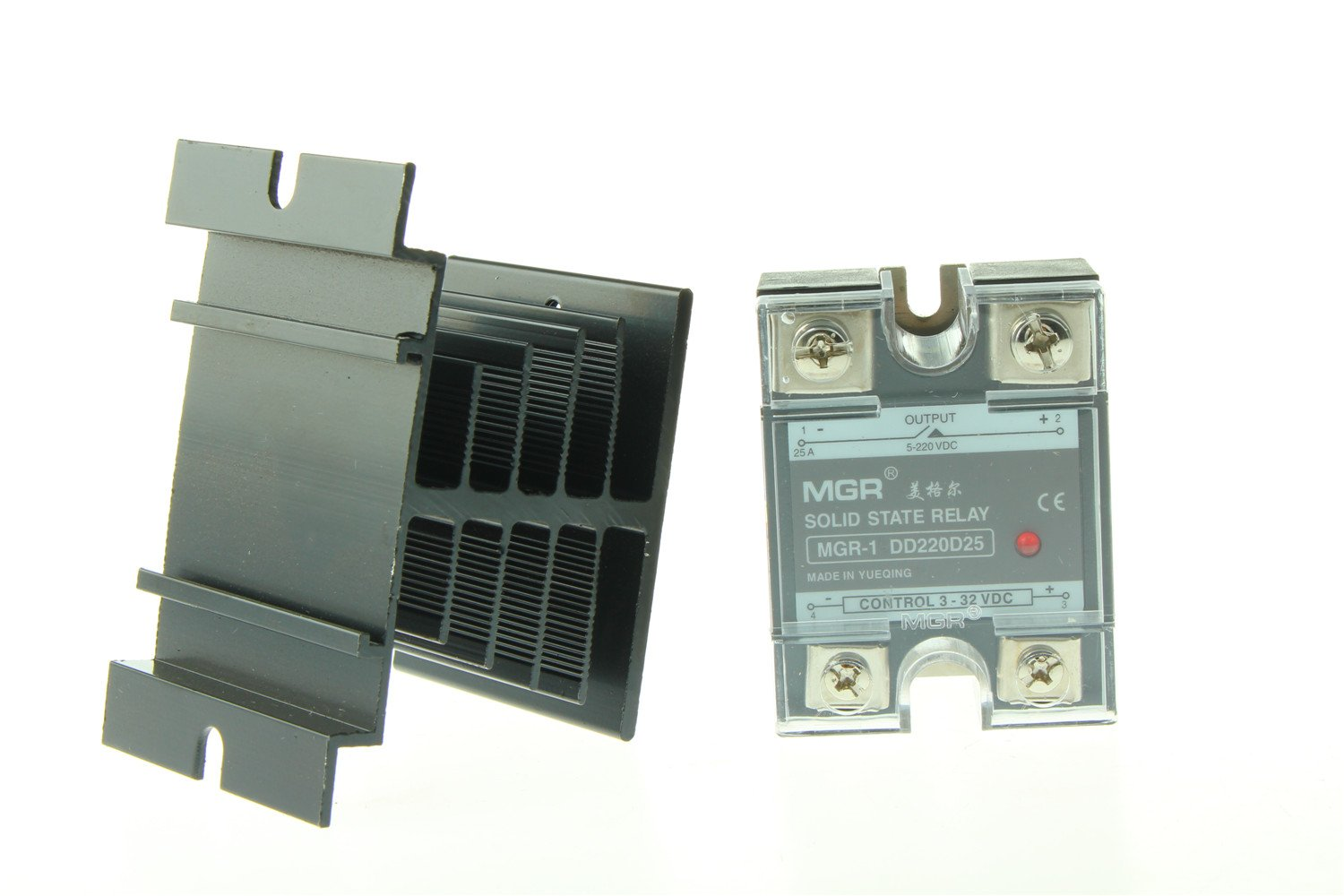 Solid State Relay Dc Load Us Stock 25a Ssr Input 3 32v 5 220v