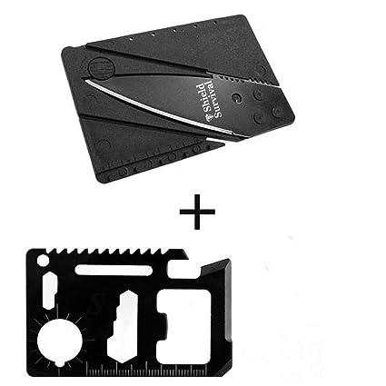 Amazon.com: shieldsurvival 11 Función Negro Acero de ...