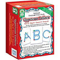 Textured Touch and Trace: Uppercase: The Best Multisensory Experience for Learning Alphabet Letter Recognition and Correct Letter Formation