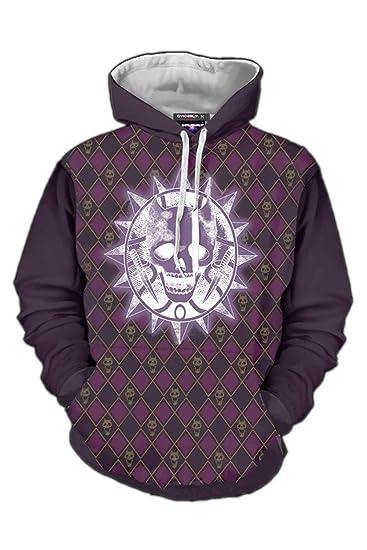 JoJo/'s Bizarre Adventure Kira Yoshikage KILLER QUEEN Sweater Hoodie Coat Double