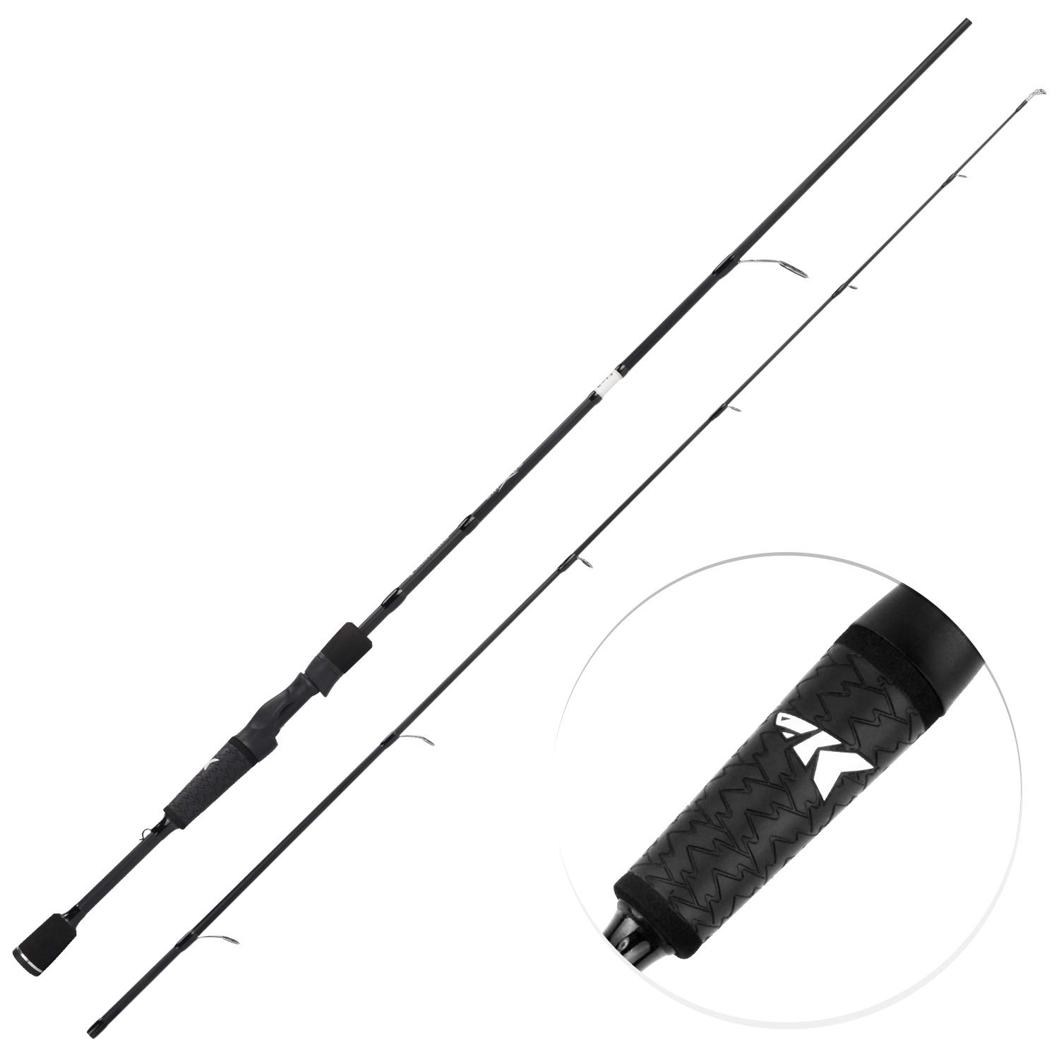 Rod & Reel Combos Fishing gift for men Premium Matte Finish Spinning Rod Pole and Reel Combo Fishing 65