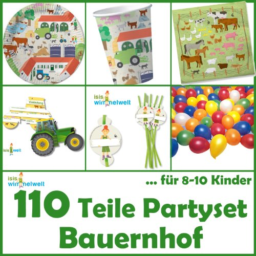 Dekospass dh konzept kit de 110 piezas para cumplea os for Diseno piezas infantiles