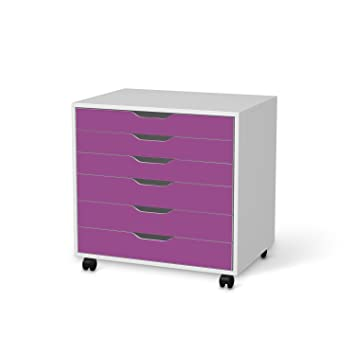 Creatisto Möbeldeko Für IKEA Alex Schreibtisch Rollcontainer 6 Schubladen |  Möbelfolie Klebesticker Tapete Folie Möbel