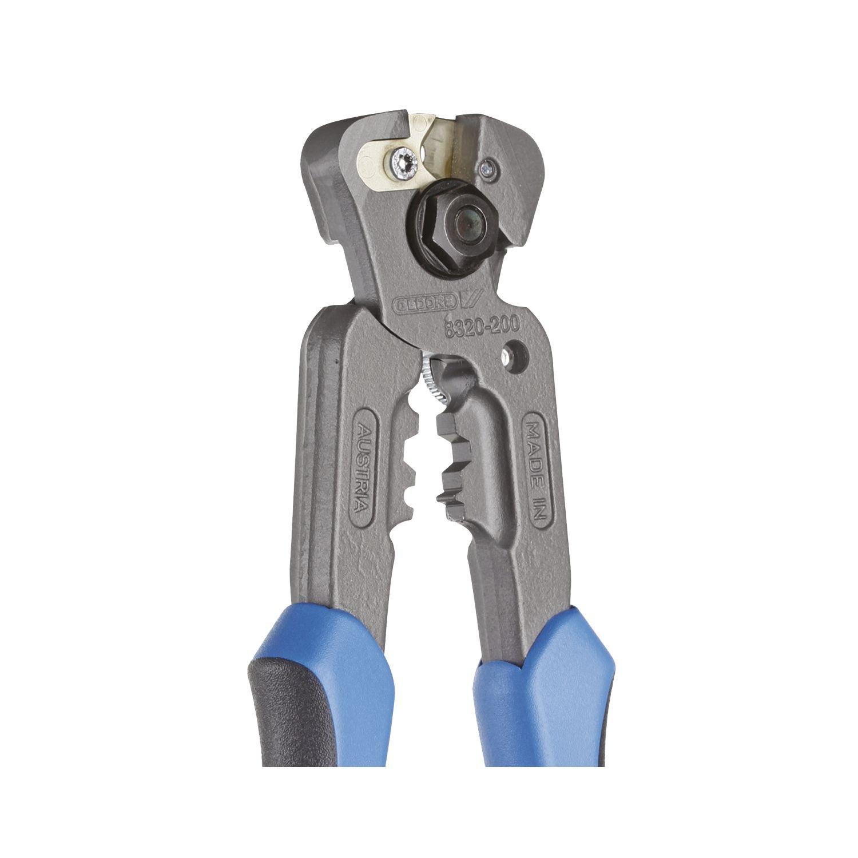GEDORE 8320-200 JC Drahseilschneider 200 mm Bowdenzugschneider mit auswechselbaren Schneidplatten Drahtschneider Zange per Hand bedienbar bis 5 mm
