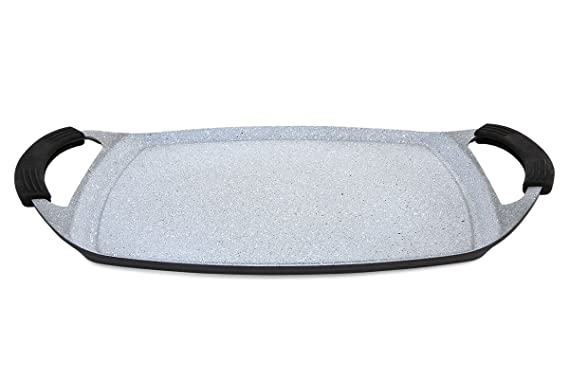 Infinity - Plancha de Asar - Aluminio Fundido Indeformable - (36*22 cm)