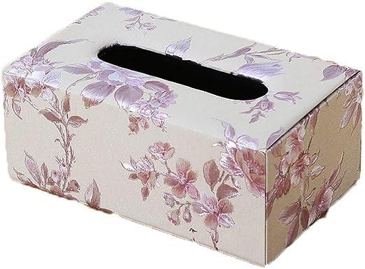 ENXING Caja de pañuelos Caja Rectangular para pañuelos Papel de ...