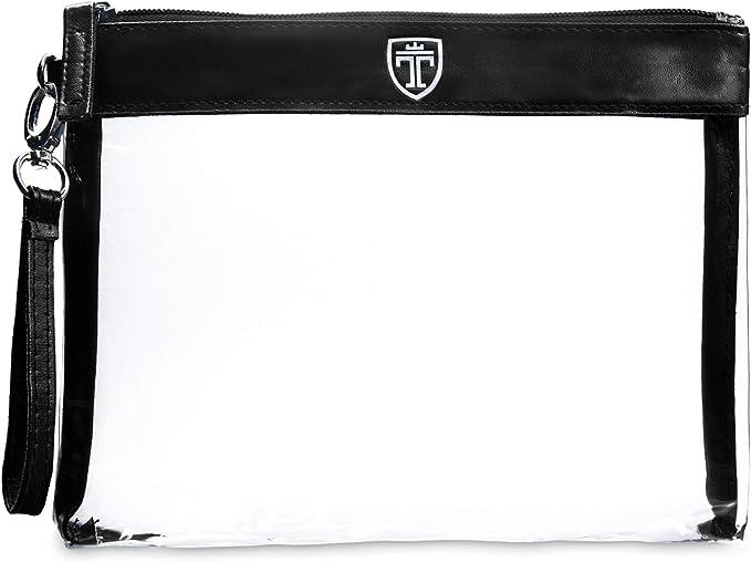 TRAVANDO ® Neceser transparente - 1l de capacidad - bolsa para ...