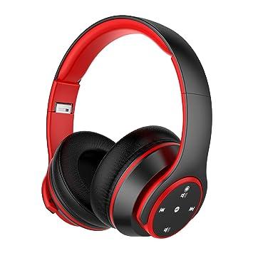 Auriculares Bluetooth de Diadema Inalámbricos de NickSea, Auriculares Plegables con Botones Táctiles Cascos Bluetooth con