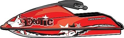 Exotic Signs Kawasaki Jet Ski STS 900 STX1100 STX 900 Graphic Kit EK0003STS 900