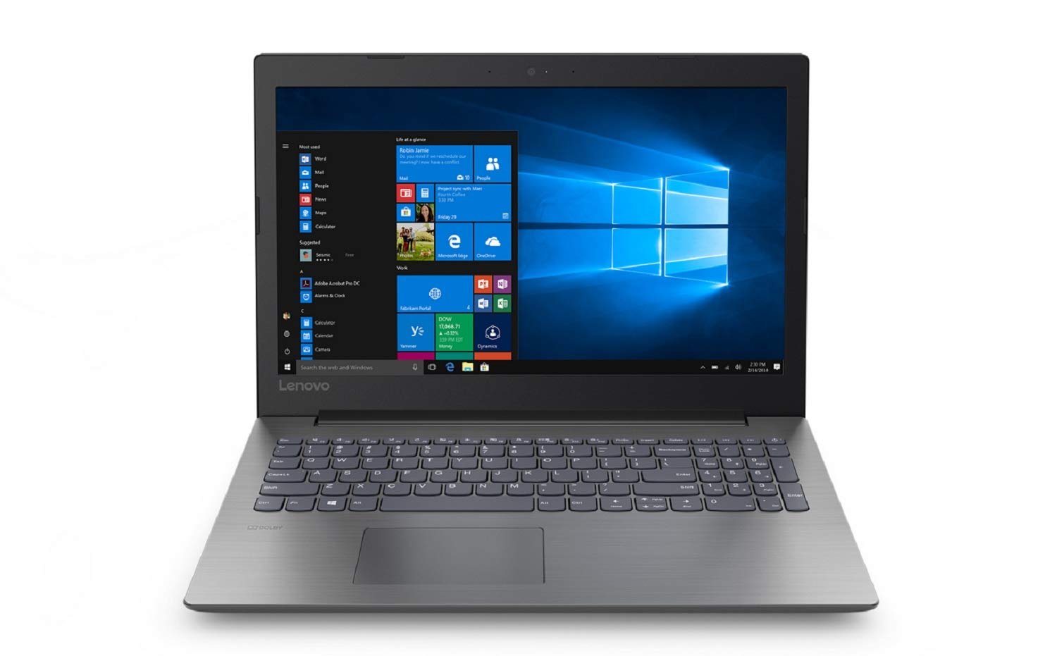 【人気沸騰】 Lenovo Ideapad High Performance 15.6 inch Home and Business Laptop (Intel Celeron N4000 Processor, 16GB RAM, 480GB SSD, 15.6