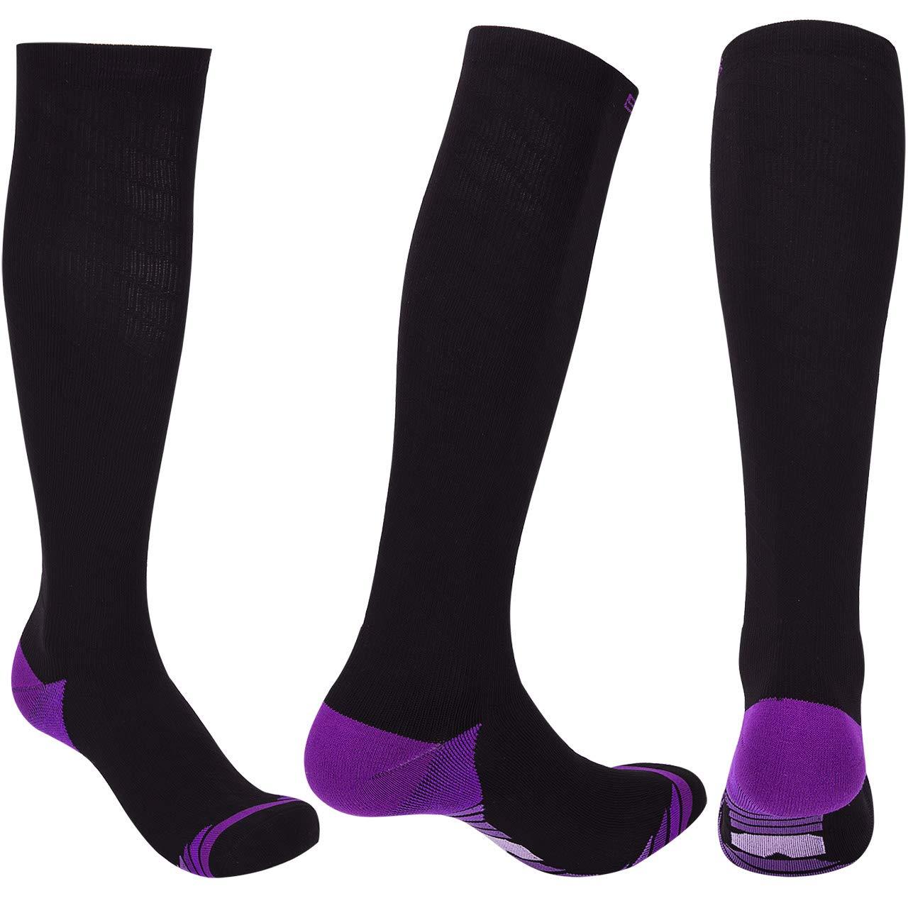 a98226201 Graduated Compression Socks for Men Women (20-30 mmHg) Best Athletic Fit  for Nurses