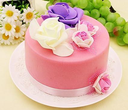 Brilliant Amazon Com Skyseen 6 Artificial Food Fake Birthday Cake Model Personalised Birthday Cards Fashionlily Jamesorg