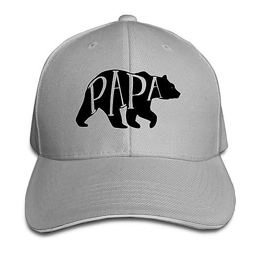 3cd3c3024d Amazon.com  Papa Bear American Apparel Dads Snapback Fitted Sandwich Cap  (6311343110962)  Books