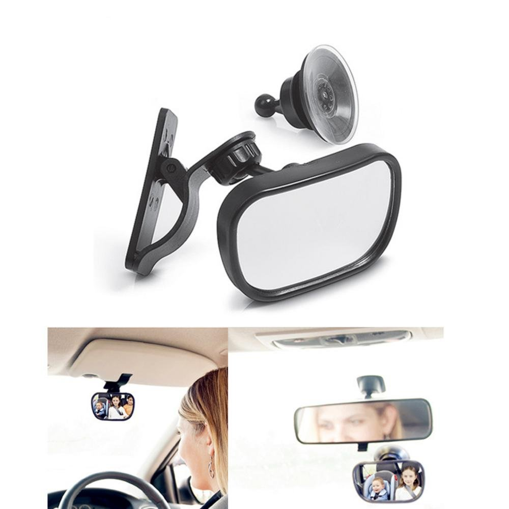 TO Design Auto Baby Car Mirrors Rear Seat View Backseat Blind Spot Monitoring for Baby and Child Navigate from Different Angles, Interior Baby Safety