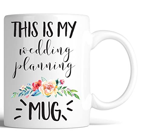 Amazon.com: This is my Wedding Planning Coffee Mug Funny ...