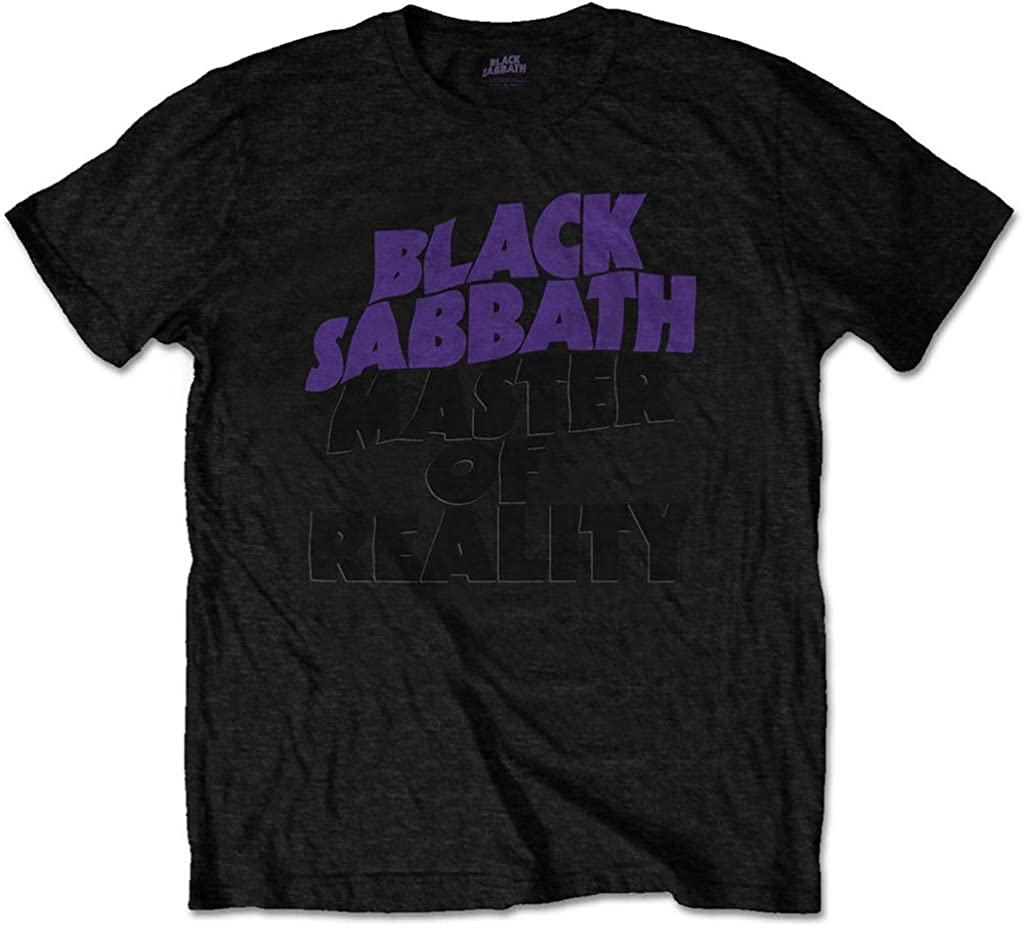 Black Sabbath 'Masters of Reality Album' (Black) T Shirt