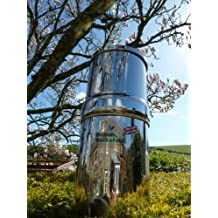Stainless Steel Gravity Water Purifier with Super Sterasyl Filters - UK ONLY by Doulton