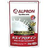 アルプロン -ALPRON- ホエイプロテイン ベリーベリー風味 3kg アルプロン