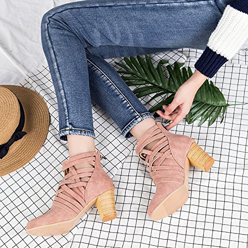 stivali scarpe per donna Tacco alto da five Thirty qt5TT1w