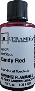 Ceramifix Candy Red Touch up Paint