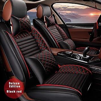 full set black grey Car seat covers fit Peugeot 3008