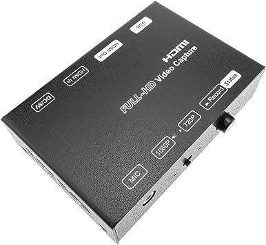 BeMatik - Capturadora de vídeo HDMI por USB Compatible con H.264 ...