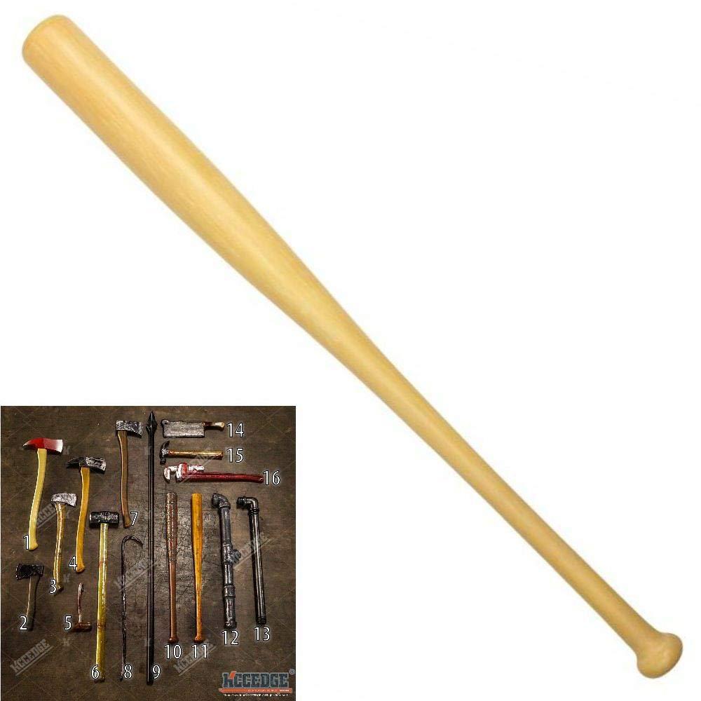 Halloween Props FOAM Sword Axe Bat Crowbar Hatchet Knife Hammer Wrench Sledgehammer Medieval Sword Roman Sword Spartan Sword For Halloween Costume Cosplay LARP Home Decor 52883 (32'' Bat A) by KCCEDGE BEST CUTLERY SOURCE
