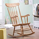 Belham Living Wood Nursery Rocker - Natural