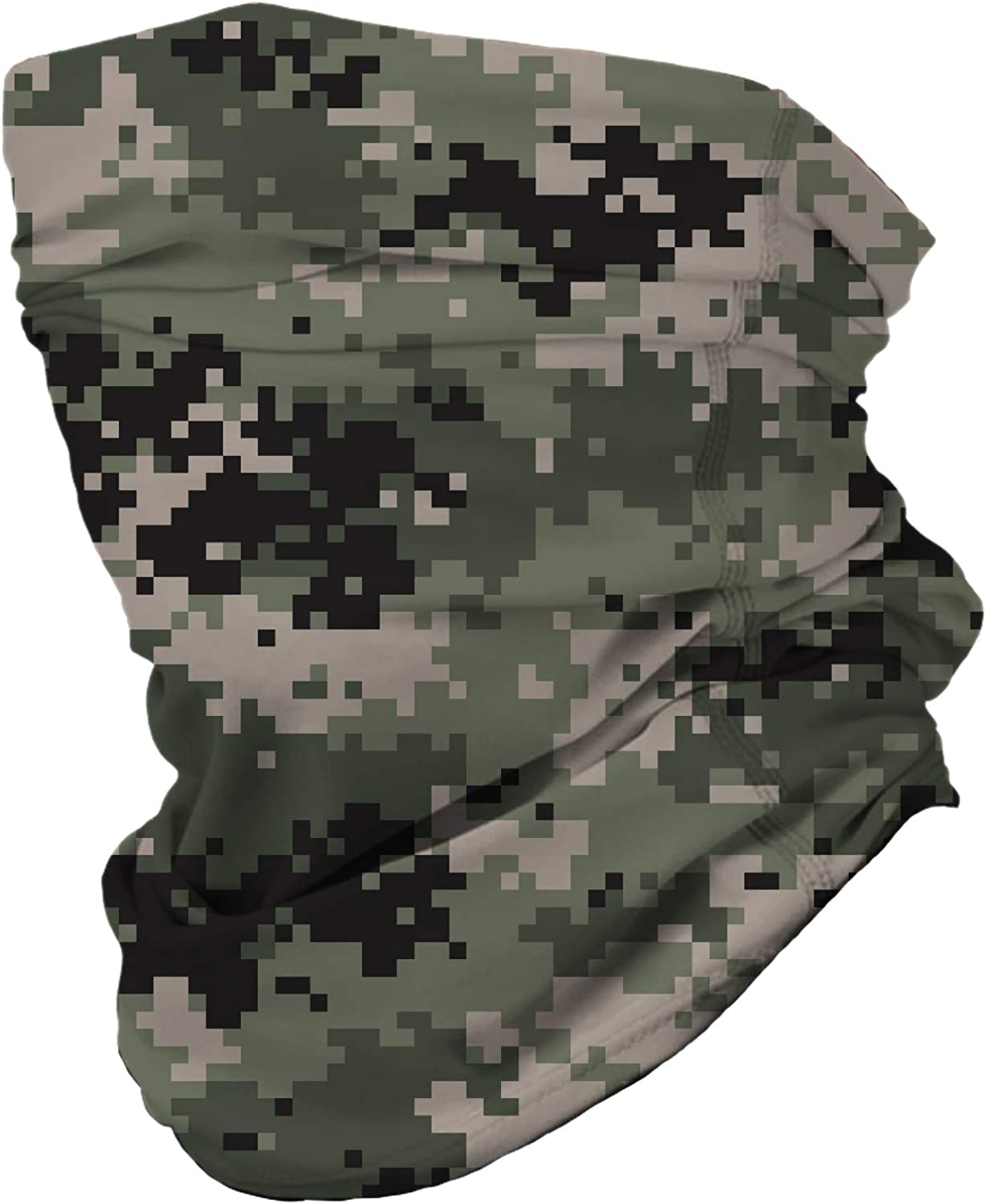 NuffSaid 12 in 1 Multifunctional Headwear Face Mask Neck Gaiter Camo Collection