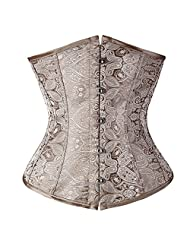 UK STOCK Sexy Glamour Lace Boned Corset Dresses Halter Outfit Basques+Thong