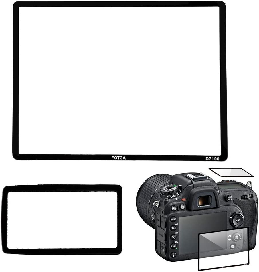 Professional LCD Optical Glass Screen Protector for Nikon D7100 DSLR Camera