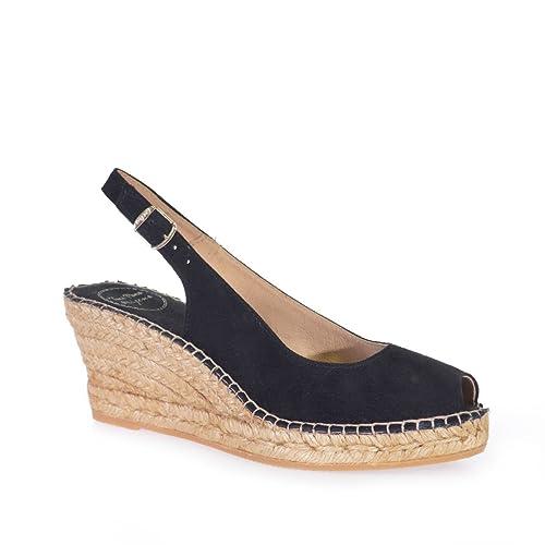 CALPE - Alpargata para Mujer de TONI PONS Hecha en Piel.: Amazon.es: Zapatos y complementos