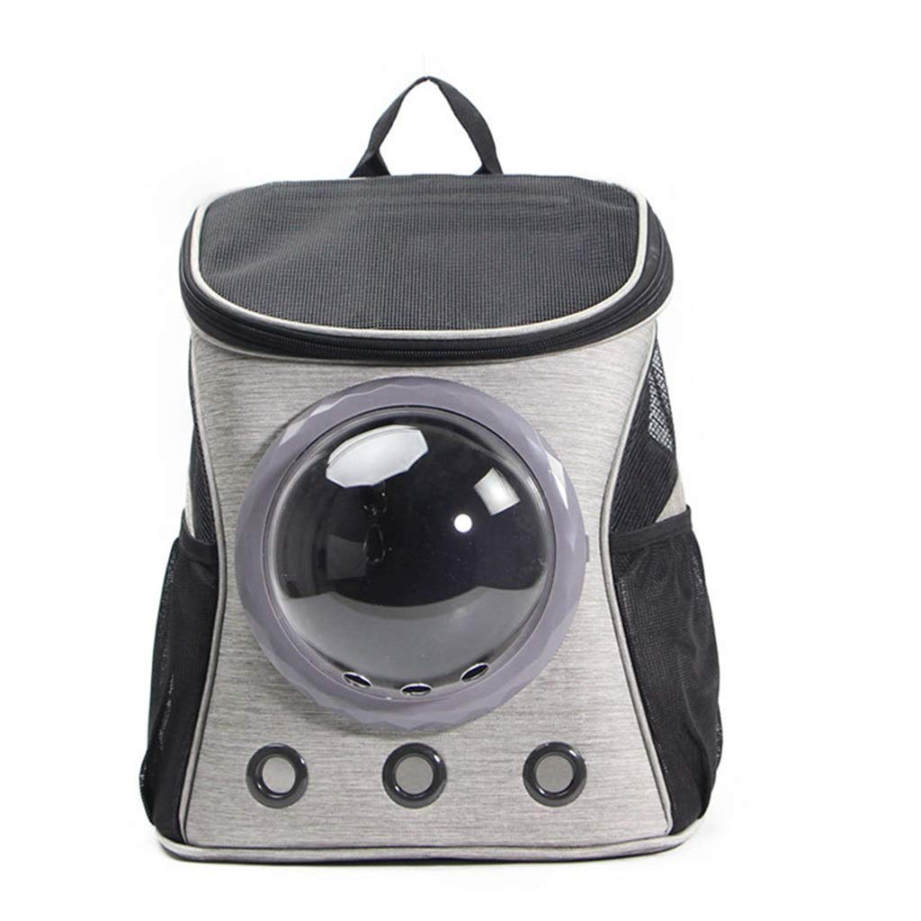 Cats Dog Backpack Carrier Soft PU Astronaut Bubble Carrier Bag Airline Approved Pet Backpack for Outdoor Travel Hiking