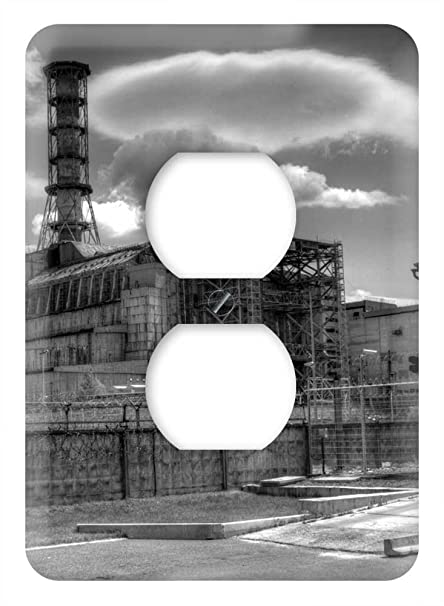 Amazon.com: WaPlate - Chernobyl - Switch Plate Outlet Cover ...