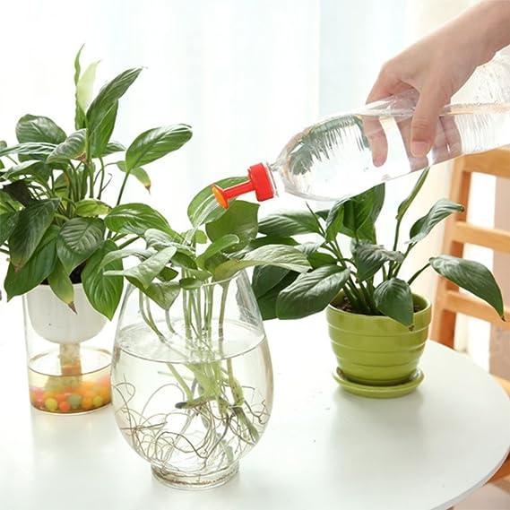 Gießaufsätze für Wasserflaschen Ballbrause Gießbrause Bonsai 4 Stück im Set