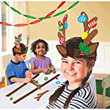 Reindeer Antler Craft Kit - 40 Pieces - Great for Christmas